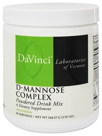 DaVinci Laboratories - D-Mannose Complex Powder - 165 Grams