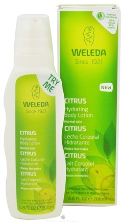 DROPPED: Weleda - Body Lotion Hydrating Citrus - 6.8 oz.