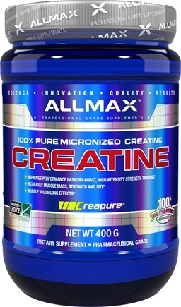DROPPED: AllMax Nutrition - Creatine Monohydrate Powder - 400 Grams