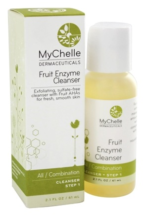 DROPPED: MyChelle Dermaceuticals - Fruit Enzyme Cleanser for All Skin Types - 2.1 oz.