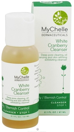 DROPPED: MyChelle Dermaceuticals - White Cranberry Cleanser for Acne Oily Skin - 2.1 oz. CLEARANCE PRICED
