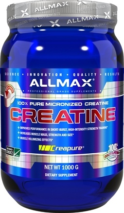 AllMax Nutrition - 100% Pure Micronized German Creatine Powder - 1000 Grams