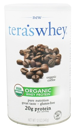 DROPPED: Tera's Whey - Organic Grass Fed Whey Protein Coffee - 12 oz.