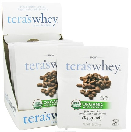 Tera's Whey - Organic Grass Fed Whey Protein Coffee - 1 oz.
