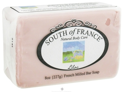 DROPPED: South of France - French Milled Vegetable Bar Soap Lilac - 8 oz.