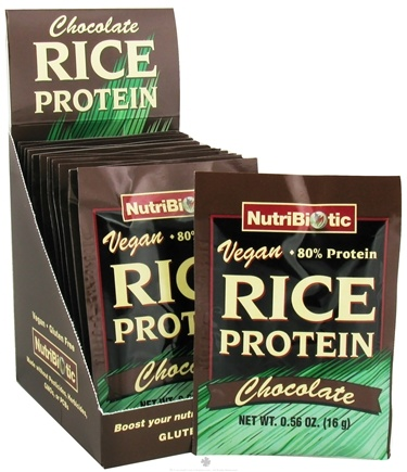 DROPPED: Nutribiotic - Vegan Rice Protein Chocolate - 12 Packet(s)