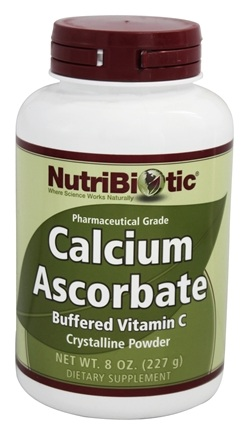 Nutribiotic - Calcium Ascorbate Crystalline Powder - 8 oz.