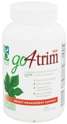 DROPPED: Genuine Health - Go4Trim with Svetol Green Coffee Bean Extract - 126 Capsules CLEARANCE PRICED