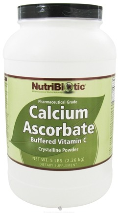 DROPPED: Nutribiotic - Calcium Ascorbate Crystalline Powder - 5 lbs. CLEARANCE PRICED