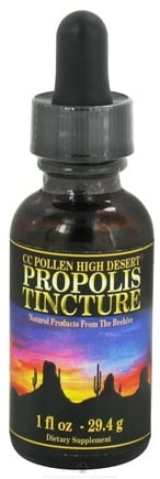 DROPPED: CC Pollen - High Desert Propolis Tincture - 1 oz.