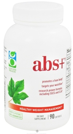 DROPPED: Genuine Health - Abs+ - 90 Softgels
