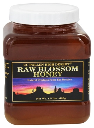 CC Pollen - High Desert Totally Desert Honey - 1.5 lbs.