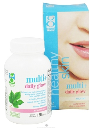DROPPED: Genuine Health - Healthy Skin Multi+ Daily Glow - 60 Tablets CLEARANCE PRICED
