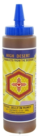 DROPPED: CC Pollen - High Desert Royal Jelly In Honey - 12 oz.