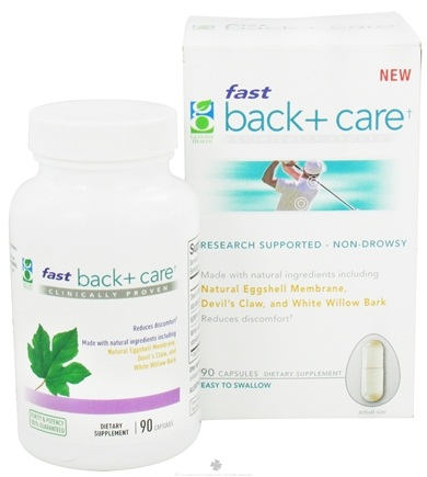 DROPPED: Genuine Health - Fast Back+ Care - 90 Capsules CLEARANCE PRICED