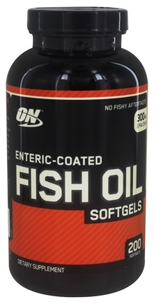 DROPPED: Optimum Nutrition - Enteric-Coated Fish Oil - 200 Softgels