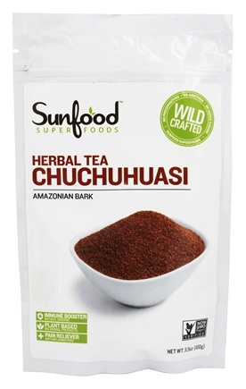 DROPPED: Sunfood Superfoods - Chuchuhuasi Tea-Cut Raw Wildcrafted - 3.5 oz.