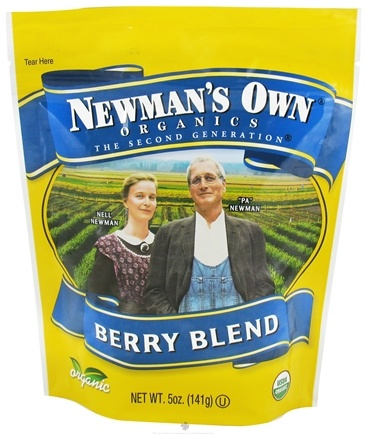 DROPPED: Newman's Own Organics - Organic Berry Blend - 5 oz. CLEARANCE PRICED