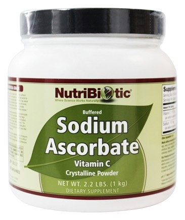 DROPPED: Nutribiotic - Sodium Ascorbate Buffered Crystalline Powder - 2.2 lbs.