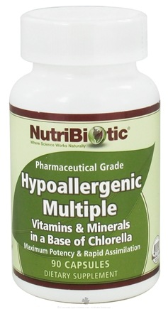 DROPPED: Nutribiotic - Hypoallergenic Multiple Pharmaceutical Grade - 90 Capsules CLEARANCE PRICED