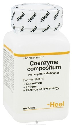 DROPPED: Heel Professional - Coenzyme Compositum - 100 Tablets