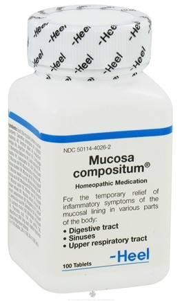 DROPPED: Heel Professional - Mucosa Compositum - 100 Tablets