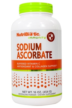 Nutribiotic - Sodium Ascorbate Buffered Crystalline Powder - 16 oz.