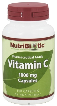 DROPPED: Nutribiotic - Vitamin C Pharmaceutical Grade 1000 mg. - 100 Capsules CLEARANCE PRICED