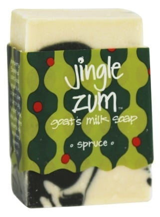 DROPPED: Indigo Wild - Jingle Zum Mini Zum Bar Goat's Milk Soap Spruce - 1.5 oz.