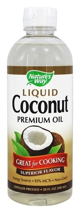 Nature's Way - Liquid Coconut Premium Oil - 20 oz.