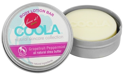 DROPPED: Coola Suncare - Body Lotion Bar Grapefruit Peppermint - 2.75 oz. CLEARANCE PRICED