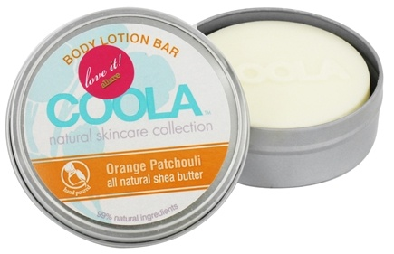 DROPPED: Coola Suncare - Body Lotion Bar Orange Patchouli - 2.75 oz. CLEARANCE PRICED