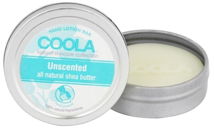 DROPPED: Coola Suncare - Hand Lotion Bar Unscented - 0.5 oz. CLEARANCE PRICED