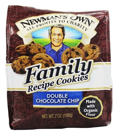 Newman's Own Organics - Family Recipe Cookies Double Chocolate Chip - 7 oz.