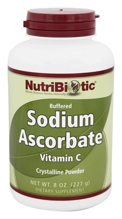 Nutribiotic - Sodium Ascorbate Buffered Crystalline Powder - 8 oz.