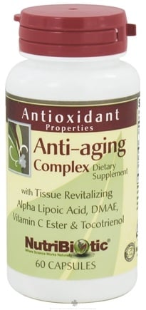 DROPPED: Nutribiotic - Antioxidant Anti-Aging Complex - 60 Capsules