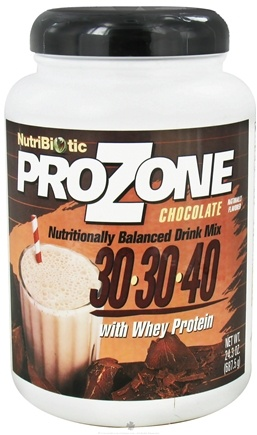 DROPPED: Nutribiotic - ProZone Nutritionally Balanced Drink Mix with Whey Protein Chocolate - 24.3 oz. CLEARANCE PRICED