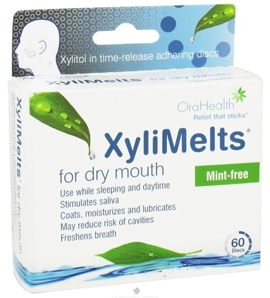 DROPPED: OraHealth - XyliMelts For Dry Mouth Mint-Free - 60 Disc(s)