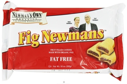 DROPPED: Newman's Own Organics - Fig Newmans Fat Free - 10 oz.