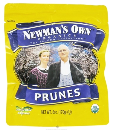 DROPPED: Newman's Own Organics - Organic Prunes - 6 oz.