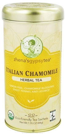 DROPPED: Zhena's Gypsy Tea - Herbal Tea Italian Chamomile - 22 Tea Bags