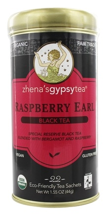 Zhena's Gypsy Tea - Black Tea Raspberry Earl - 22 Tea Bags