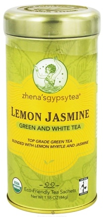 DROPPED: Zhena's Gypsy Tea - Green and White Tea Lemon Jasmine - 22 Tea Bags