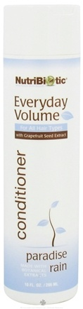 DROPPED: Nutribiotic - Everyday Volume Conditioner For All Hair Types Paradise Rain - 10 oz. CLEARANCE PRICED