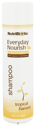 DROPPED: Nutribiotic - Everyday Nourish Shampoo For Dry, Damaged Hair Tropical Harvest - 10 oz. CLEARANCE PRICED