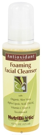 DROPPED: Nutribiotic - Antioxidant Foaming Facial Cleanser - 4.2 oz. CLEARANCE PRICED