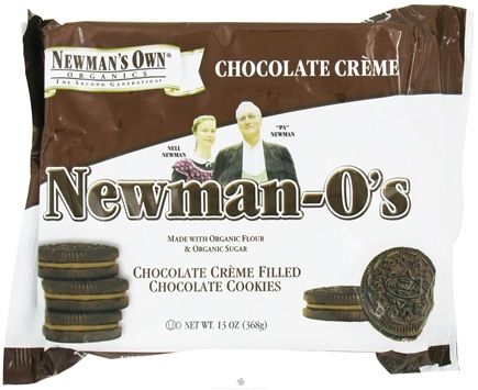 DROPPED: Newman's Own Organics - Newman's-O's Creme Filled Chocolate Cookies Chocolate Creme - 13 oz. CLEARANCE PRICED