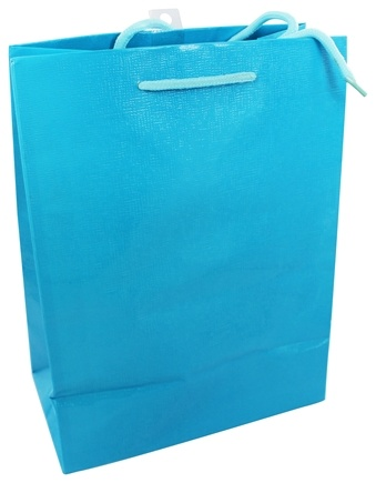 Earth Balance Bag - Tree Free Gift Bag Large Blue Cloth - CLEARANCE PRICED