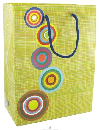 DROPPED: Earth Balance Bag - Tree Free Gift Bag Large Retro - CLEARANCE PRICED