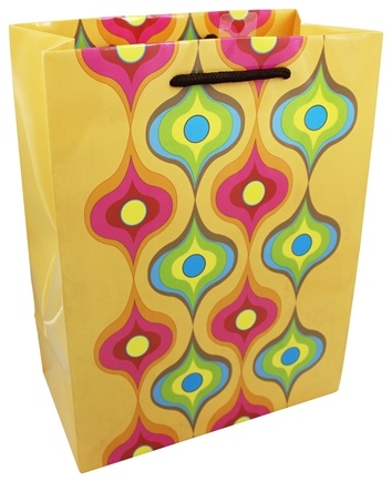 Earth Balance Bag - Tree Free Gift Bag Large Creamsicle - CLEARANCE PRICED